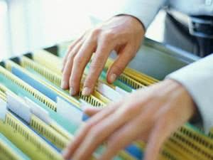 Modelo de recibo de entrega de documentos