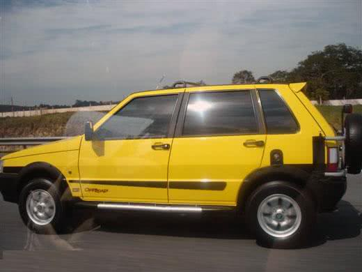 Fiat Uno tunado estilo offroad