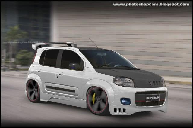 Fiat Uno após tuning extremo