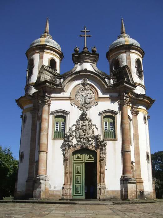 Igreja de São Francisco em Ouro Preto