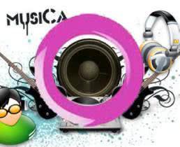 música no perfil do Orkut