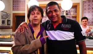 VAMPETA NO 'SHOW DO TOM'Crédito: Divulgação/Record