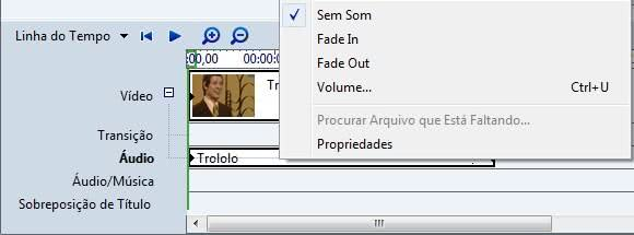 Remover áudio