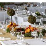 Belos arranjos para mesa de casamento