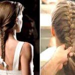 Belos penteados para cabelos compridos – Fotos