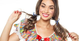 Como fazer maquiagem junina para mulheres e homens