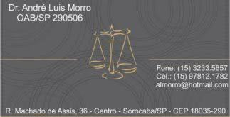 Modelos de cartão de visita para advogados