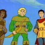 Caverna dos Dragões: fotos e vídeos dos personagens