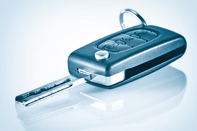 Chave canivete pode possuir botões para abertura e travamento remoto das portas