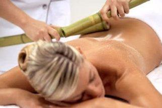Conheça a poderosa drenagem linfática com bambu, ou bambuterapia!