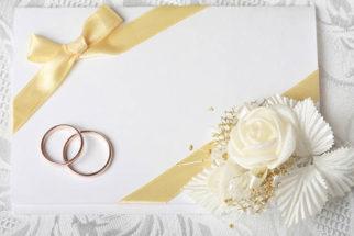 É necessário fazer convite para casamento que só terá a cerimônia da igreja?