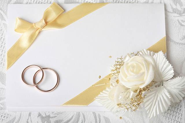 Se não tiver festa após a cerimônia na igreja é importante deixar claro no convite