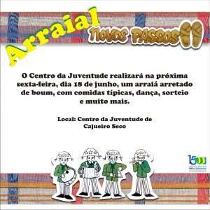Confraternização junina