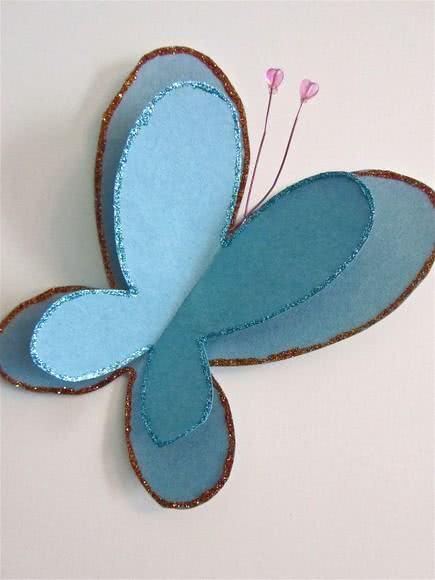 Convite de borboleta