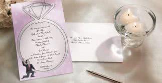 Convite para noivado – Dicas e modelos prontos