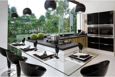 Cozinha futurista