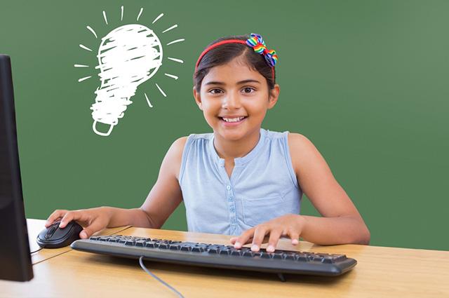 Para que a criança aprenda informática, vale ensinar comandos básicos e de maneira interativa