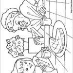 Desenho para colorir da Chapeuzinho Vermelho
