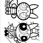 Desenhos para pintar das Meninas Super Poderosas