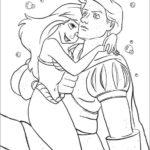Ariel e o príncipe