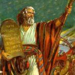 Lista com os Dez Mandamentos Bíblicos
