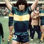 Gols do jogador Maradona