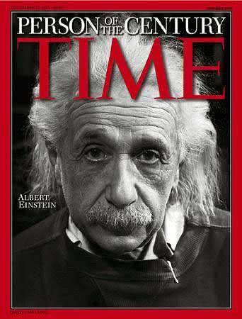 Capa da TIME com Einstein