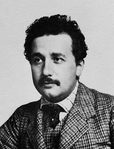 Albert Einstein em sua juventude