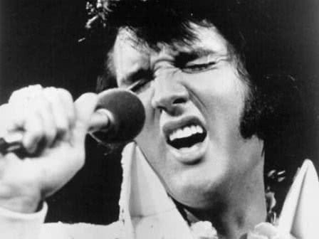 Elvis em show
