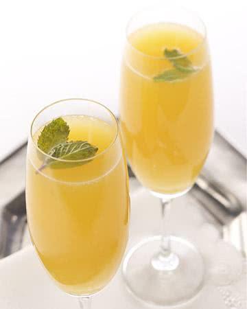 Espumante de laranja