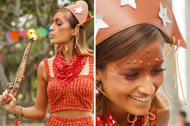 Traje de Maria Bonita é uma boa ideia para investir no Carnaval