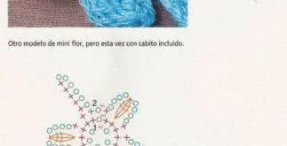 Flores em crochê – como fazer usando gráficos