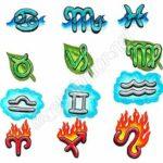 Fotos de modelos de tatuagem dos signos