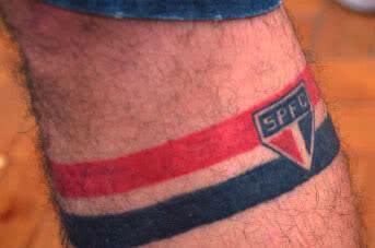 Foto de tatuagem do São Paulo