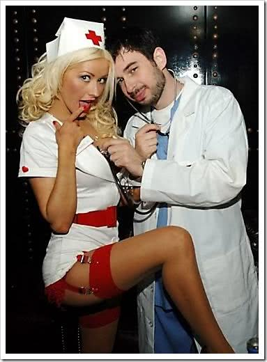 Enfermeira e médico