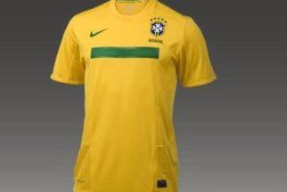 Fotos do modelo da nova camisa da Seleção Brasileira 2011