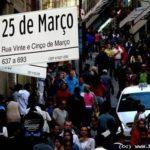 Galeria Pagé e rua 25 de março em São Paulo: mapas e como chegar
