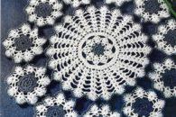 Gráficos de toalhas em crochê