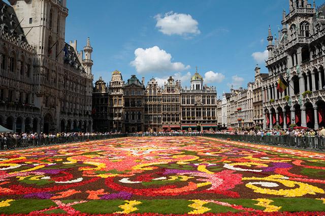 A Gran Place é um dos logradouros mais bonitos do mundo