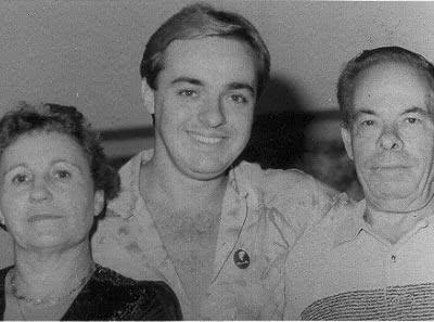 Gugu e seus pais