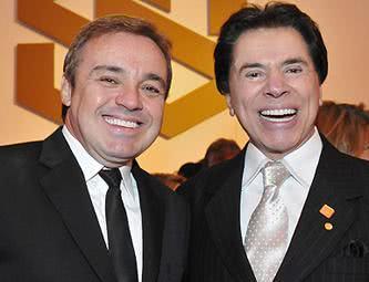 Gugu e Silvio Santos
