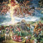 História de Michelangelo e imagens de obras