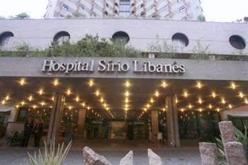 Hospital Sírio Libanês - endereço e telefone