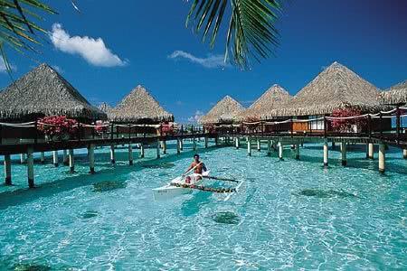 Bangalôs da Ilha de Tahiti