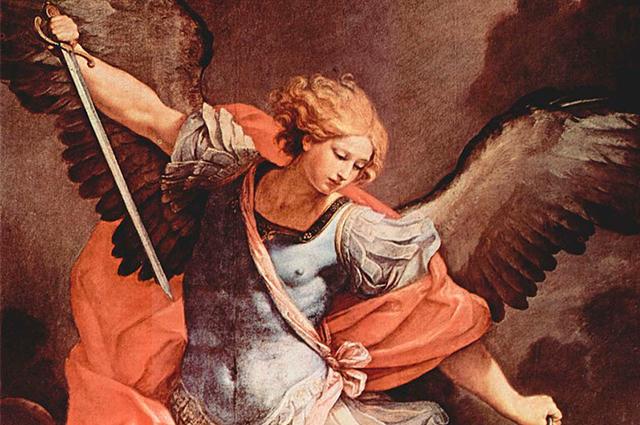 Maus pensamentos pendem orações fortes envolvendo santos