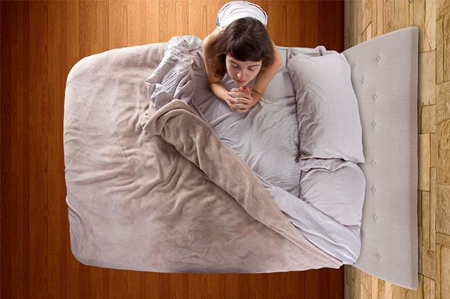 Orações também possuem eficácia antes de dormir