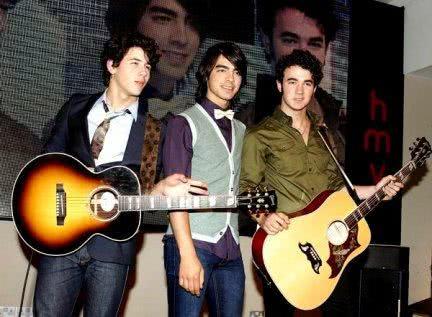 Jonas Brothers em apresentação
