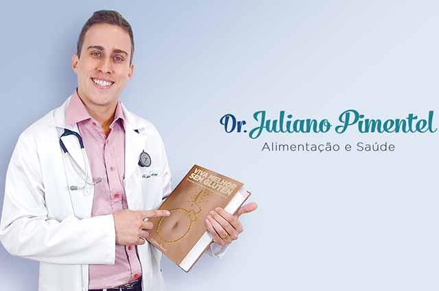 Juliano Pimentel virou referência na internet por passar dicas de alimentação sudável
