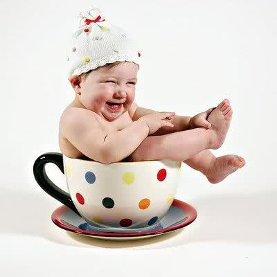 Chá de fralda