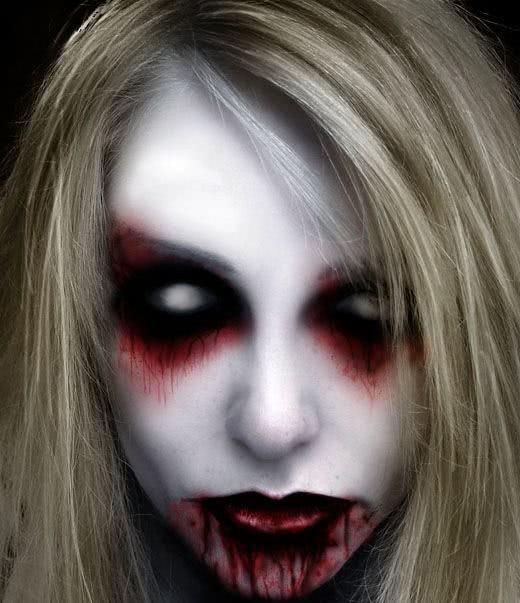 Olhos e boca sangrando